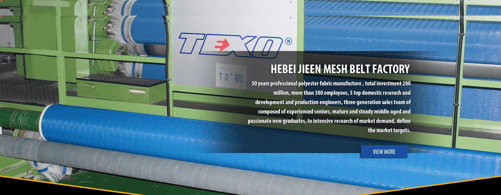 Hebei Jieen Mesh Belt Co., Ltd.