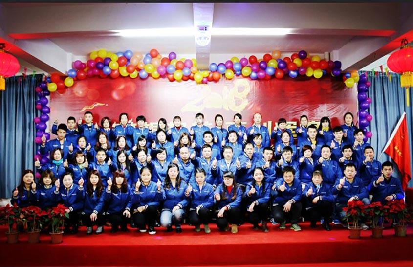 Jieen Mesh Belt Annual Part 2018 Production Department