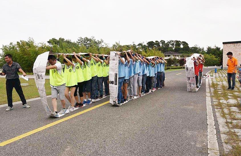 Jieen Mesh Belt Team Activity